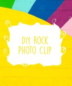 Winter Activity Kit Craft Tutorial: Rock Photo Clip
